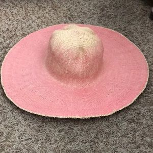 Forever 21 pink sun hat. Sz M/L